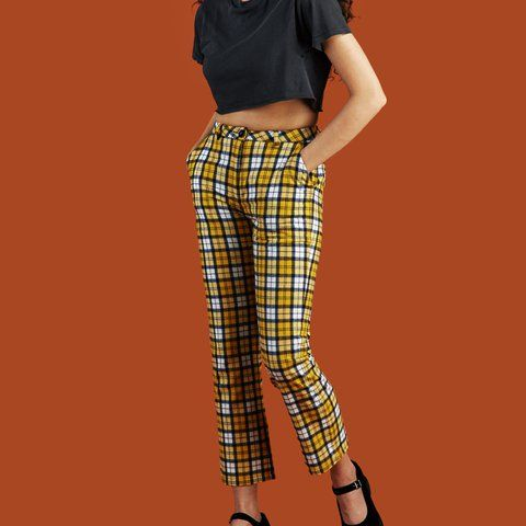 ac9d85689acd0d Dawson Yellow Pants from Unif From video how to prepare for coachella Emma  Chamberlain