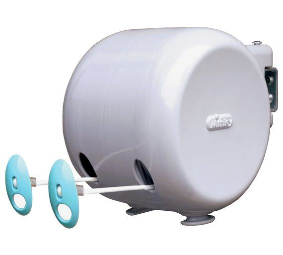 Buy Minky 30m Outdoor Retractable Reel Washing Line at Argos.co.uk, visit Argos.co.uk to shop online for Washing lines and airers, Laundry and cleaning, Home and garden