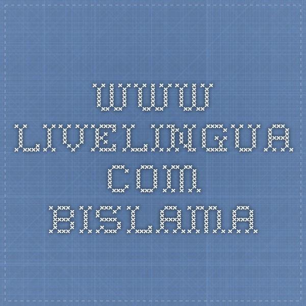 www.livelingua.com Bislama