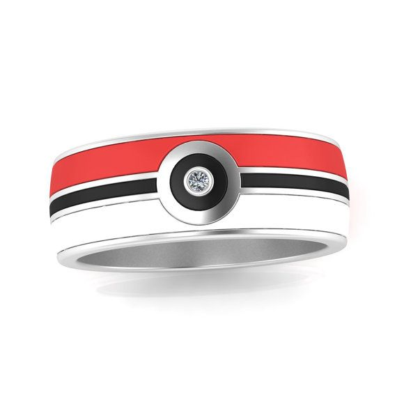Show your loved one that you choose them; with this pokemon engagement ring in a…