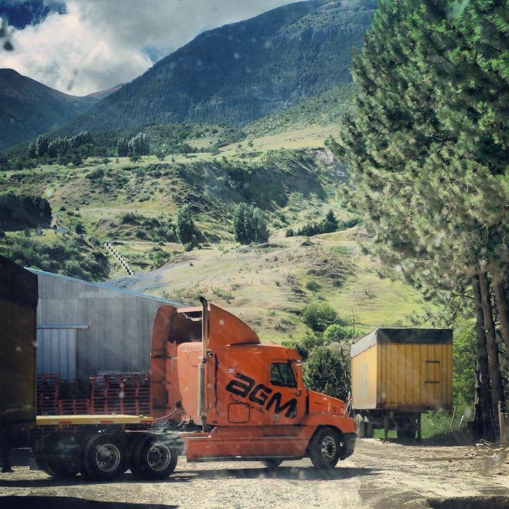 Coyhaique / Oficina AGM camino a Puerto Chacabuco