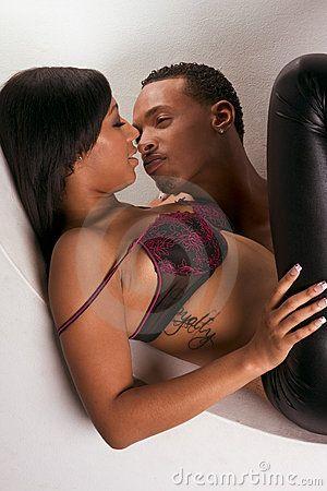 Kissing Black men women white