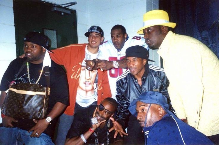 Raekwon, Kid Capri, Busta Rhymes, Q-Tip, Big Daddy Kane ...