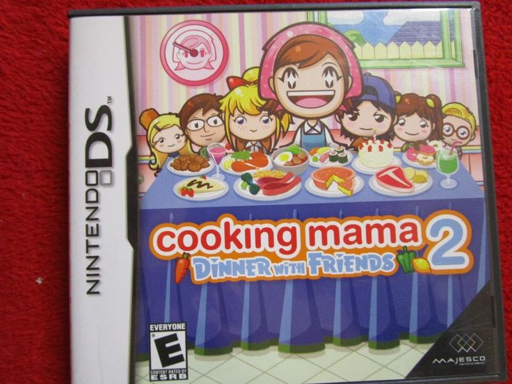 Cooking Mama 2: Dinner with Friends Nintendo DS, DSI, 2DS, 3DS, NDS EDUCATIONAL #COD #CALLOFDUTY #ARMY #RPG #MMORPG #MMO #JRPG #ROLEPLAYING #RP #kingdomhearts #finalfantasy #squarsoft #squarenix #squareenix #PS3 #PS4 #XBOX #XBOXONE #WII #WIIU #NINTENDO #3DS #VITA #PSP #2DS #DS #ZELDA #NDS #Playstation #Sony #disney #disneyana