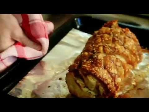 Roasted Rolled Pork Loin with Lemon and Sage from Chef Gordon Ramsay.