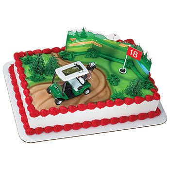 Ken's cake ordered from Ray's in Bandon.