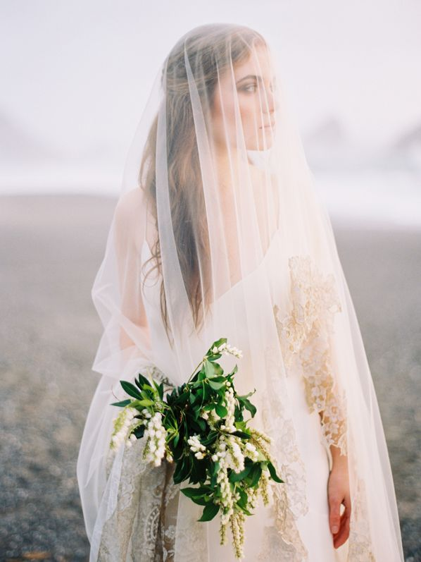 Natural Coastal Wedding Ideas - photo by Erich McVey, styling by Ginny Au