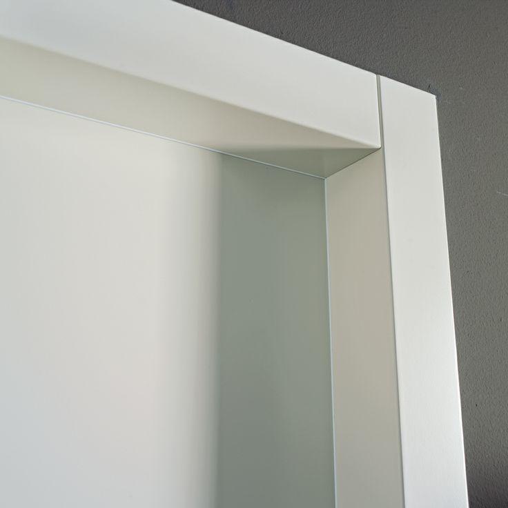 FBP porte | Collezione DEA - Telaio esterno  #fbp #porte #legno #laccata #door #wood #varnish