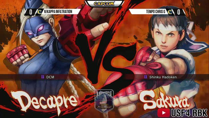 NCR2015 Infiltration (Decapre, Chun-Li) vs ChrisG (Sakura) [Pools] [HD] ...