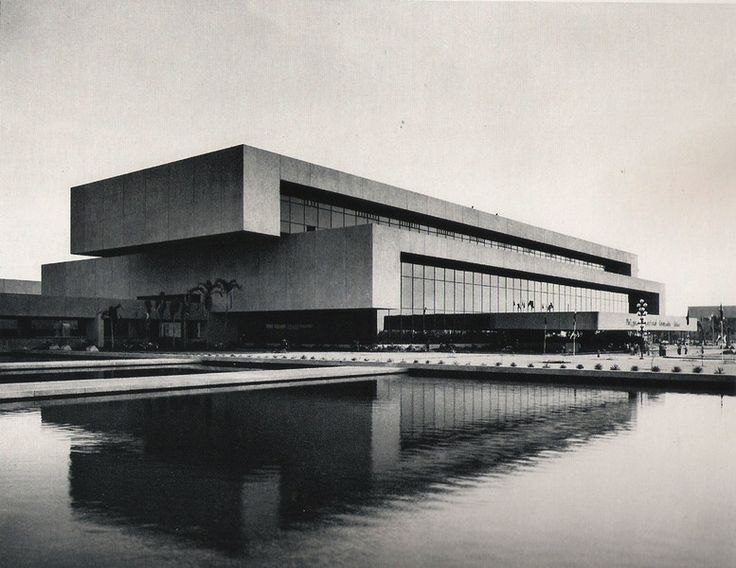 Cultural Centre of the Philippines, Manila, 1969 — Leandro V. Locsin
