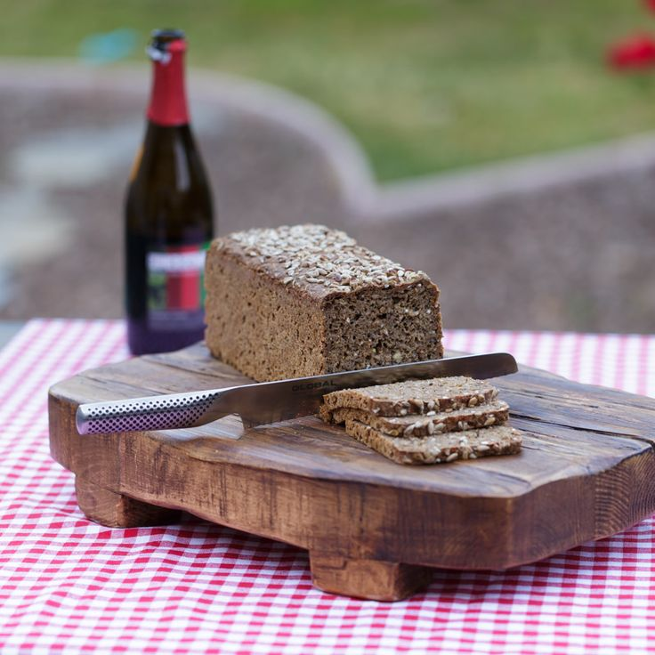 Rye Bread made with Beer and Sourdough
