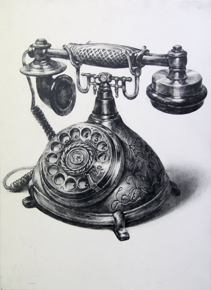 a telephone by indiart3612 on DeviantArt