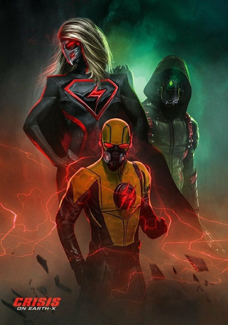 Crisis on Earth X by Bosslogic