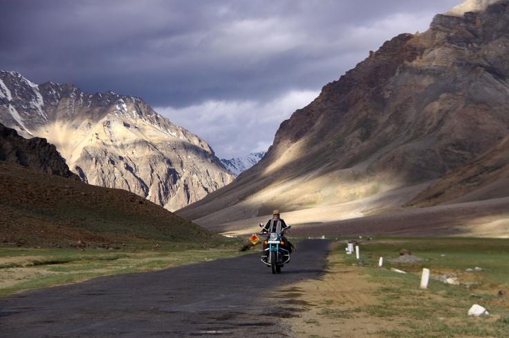 Amazing view during bike trip tp Leh Ladakh.
