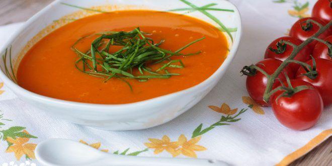 Čerstvá rajčinová s mozzarellou