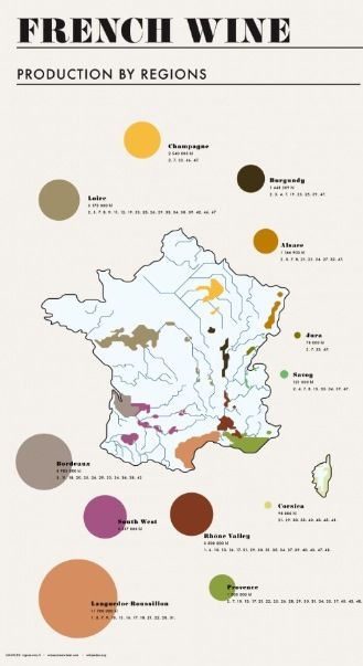 French Wine Regions For more of Crystal Palate's favorite wineries and vineyards visit www.crystalpalate.com