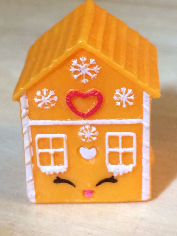 Ginger Fred Orange 3-059 Shopkins Season 3