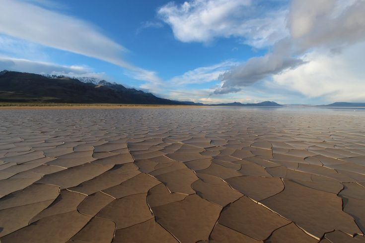 Located in Harney County, Oregon, and tucked into the Steens Mountain rain shadow, the Alvord Desert is one of the most isolated and unique land formations in the state. With some areas only receiving 5 inches of annual precipitation, it is also one of the driest locations in Oregon.The Alvord
