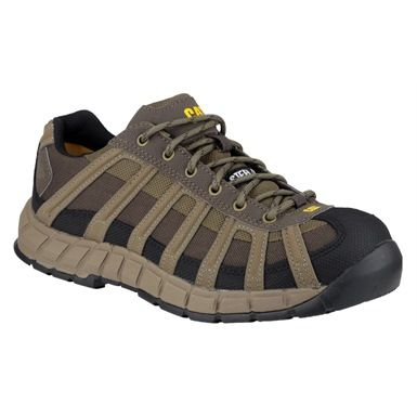 Whilst engineered to look and feel like an athletics shoe, these CAT Switch Safety Trainers are loaded with a great variety of safety features, all designed to protect the wearer on the worksite. The shoes ergonomic design means they are comfortable to wear throughout the day, and the sole offers SRC slip resistance and HRO heat resistance, as well as anti-static properties and heel energy absorption.