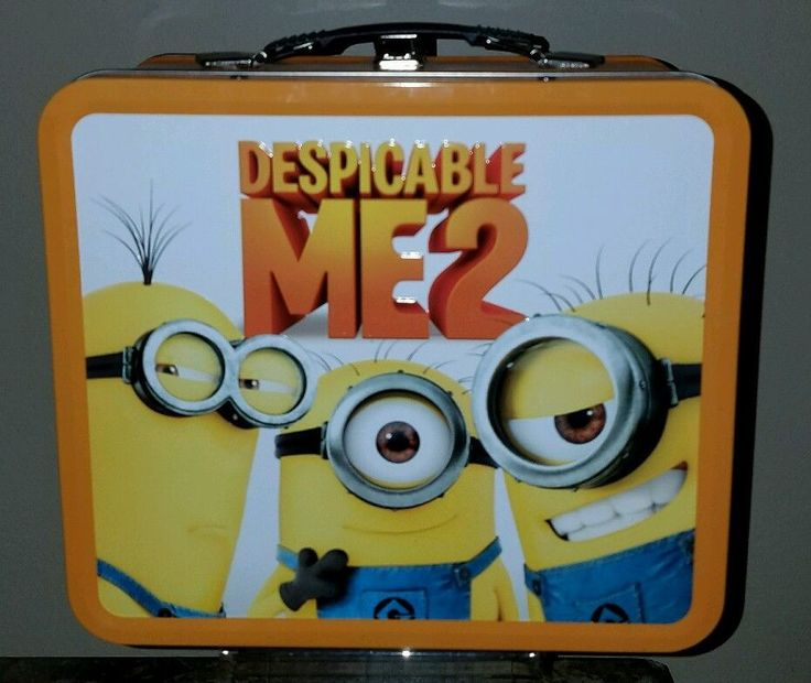 Despicable Me 2 Minion Collector's Lunch Box 3D - Best Buy Exclusive | Collectibles, Disneyana, Contemporary (1968-Now) | eBay!