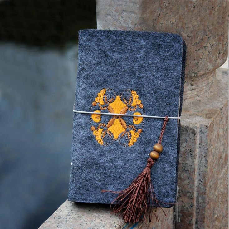 2016 hecho a mano nueva Notebook Vintage fieltro de lana bordado diario planificador semanal creativo Zx flujo Filofax viajeros Dokibook libro en Libretas de Escuela y Oficina en AliExpress.com   Alibaba Group
