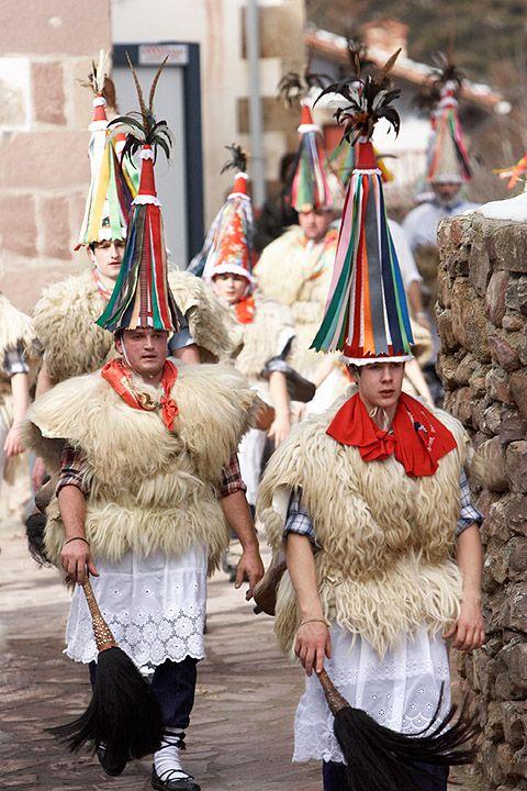 Carnaval en Ituren y Zubieta Carnaval ancestral Navarra  Spain