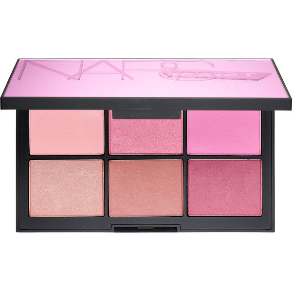 NARS NARSissist Unfiltered Cheek Palette (595 MAD) ❤ liked on Polyvore featuring beauty products, makeup, accessories, beauty, cosmetics, palette, palette makeup and nars cosmetics