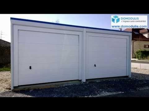 Catalogue garages béton monoblocs - Domodulis - Garage préfabriqué béton monobloc