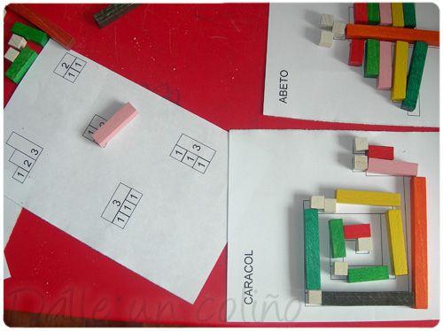 Para imprimir - cuisenaure. Em: http://www.slideshare.net/meninheira/regletas-cuisenaire Imprimibles