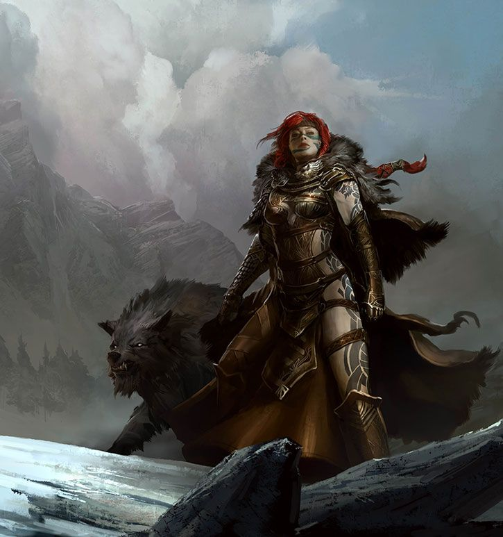 Eir Stegalkin (Guild Wars) Writeups.org -- M&M stats discussion, repository and pub