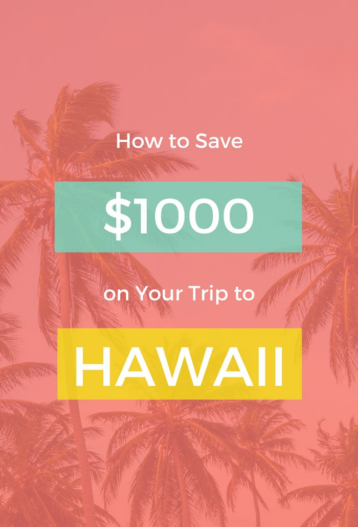 How to Save $1000 on a Trip to Hawaii: 10 money saving tips plus an amazing online workshop.