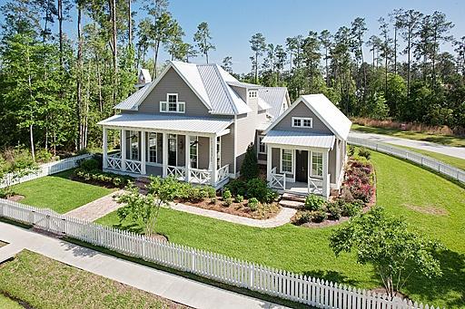 2007 southern living idea house favorites pinterest for Southern cottage floor plans