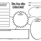 Graphic Organizer: Character Analysis for