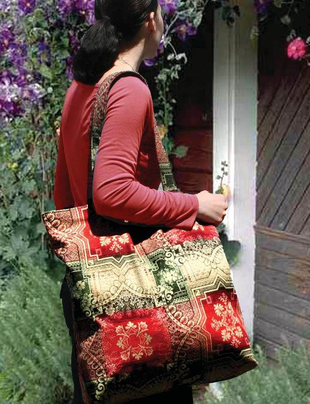 Quilt Inspiration: Free pattern day: Tote bags !