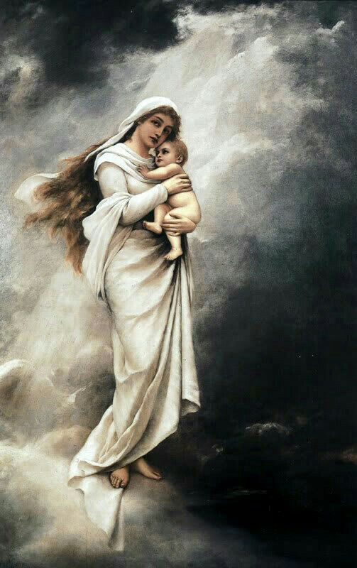 MOTHER MARY WITH INFANT JESUS