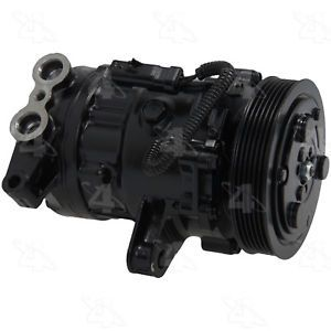 a ac compressor compressor 4 seasons 77558 reman fits 02 03 dodge ram 1500