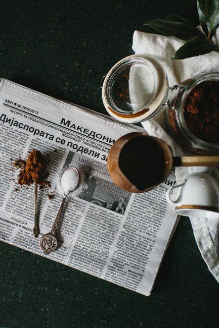 Fathers Day Turkish Coffee   Est Magazine by Stephanie Somebody   Photo: Tara Pearce