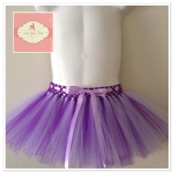 Duo purple short tutu skirt  Available on the website  www.loveyoututu.com.au