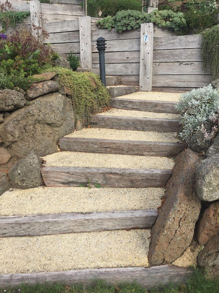 hardscape modern steps