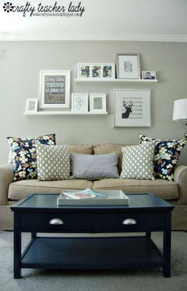 23 Ideas for living room art above couch hang pict…