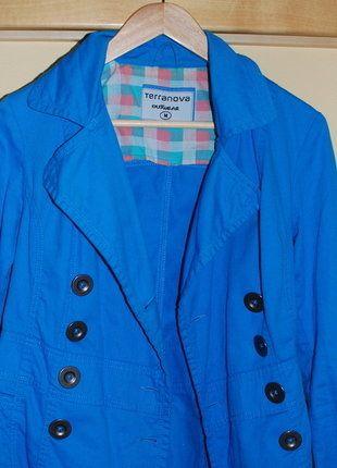 Kupuj mé předměty na #vinted http://www.vinted.cz/damske-obleceni/plaste-and-trenckoty/15743890-kabateksako-vyrazna-modra