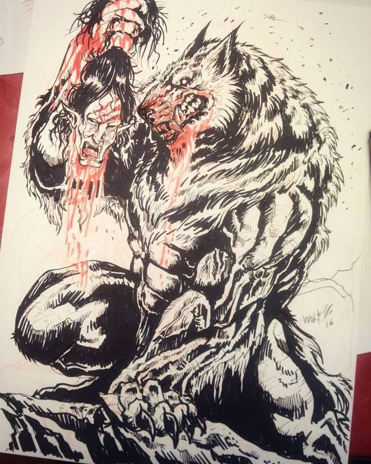 underworld werewolf by TheLaughingChimera.deviantart.com on @DeviantArt