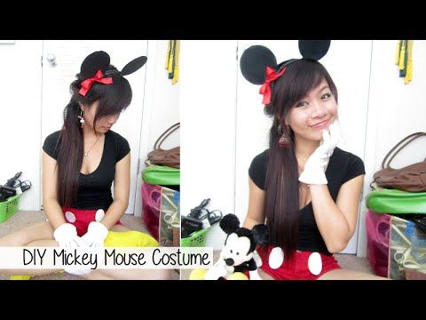DIY Mickey Mouse Costume - YouTube