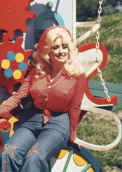 The one and only Miss Dolly Parton turns 69 today - she was born 1-19 in 1946.