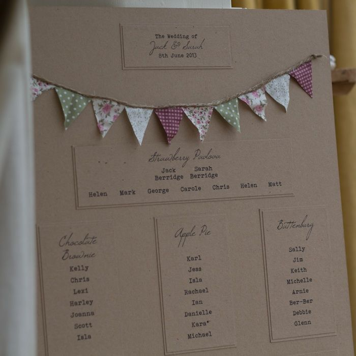 Bunting Wedding Invitations   Must be FeteTo Have & To Hold