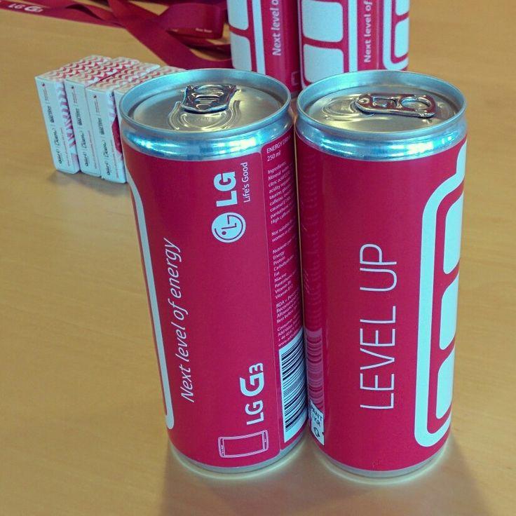 LG G3 Energy Drinks