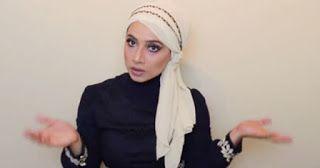Tutorial Model Hijab Turban dengan Scarf Sifon   Pusat Model