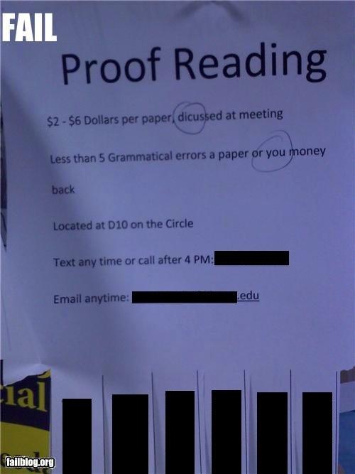 Best Proofreader Humor Images On Pinterest Proofreader - 18 proofreading fails