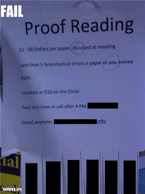 17 Best images about Proofreader humor on Pinterest | Newspaper ...