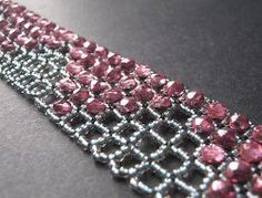 How to Right Angle Weave: 18 Right Angle Weave Beading Patterns from @AllFreeJewelryMaking